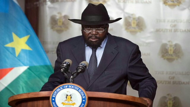 South Sudanese President Salva Kiir.