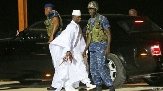 Gambia ex - president