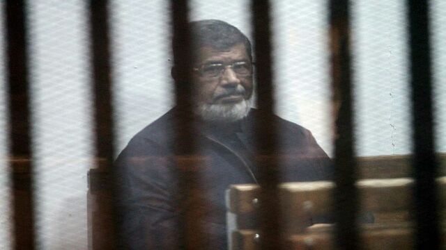 Egypt's ousted President Mohamed Morsi