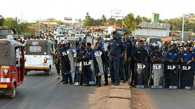 Sierra Leone police