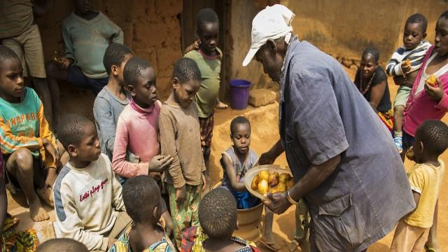 Cameroonian refugee