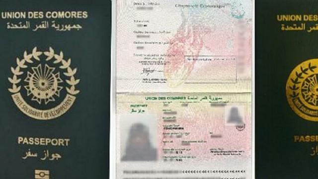 Comoros Passport