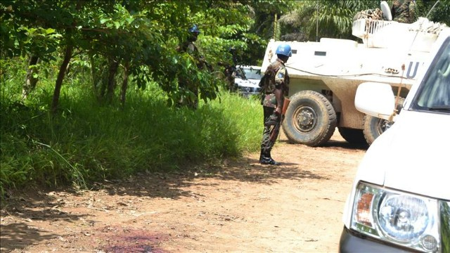 UN Troops in DRC