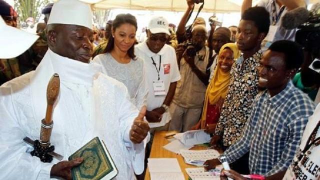 Gambia Ex-President Yahya Jammeh