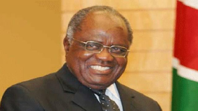 Namibian ex-president Hifikepunye Pohamba