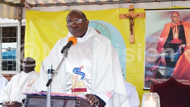Rt Rev Msgr Charles Kasibante