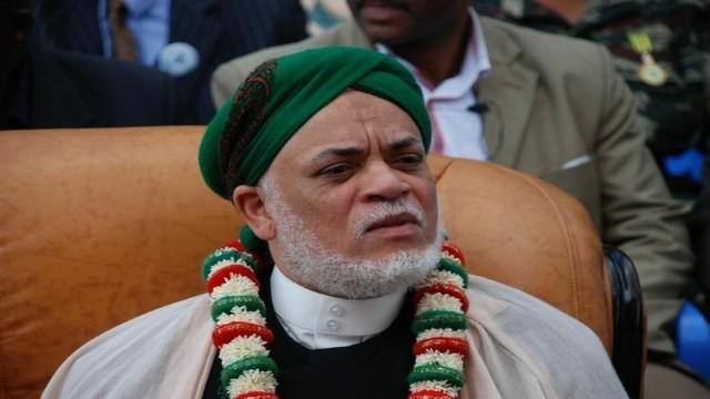 Comoran President Ahmed Abdallah Mohamed Sambi