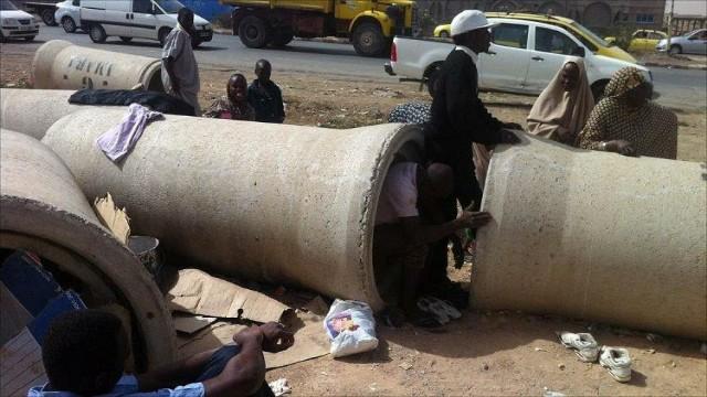 Malian migrants in Algeria