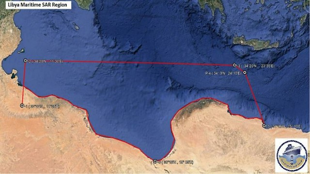 Libya's new search and rescue zone