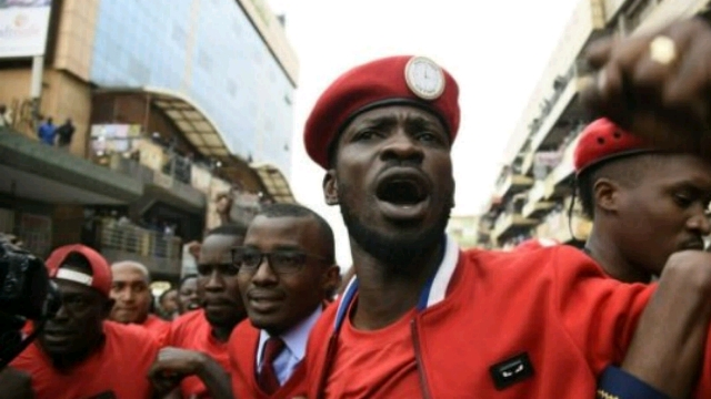Robert Kyagulanyi, aka Bobi Wine