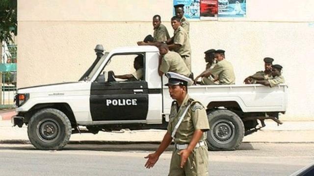 Mauritanian-police