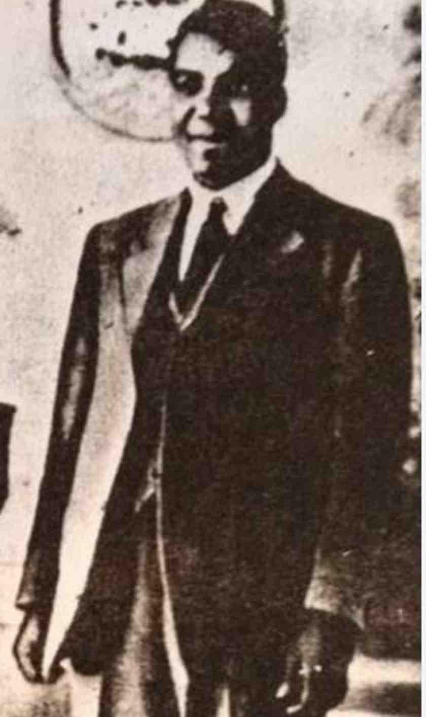 Engenas Lekganyane, founder of the ZCC.