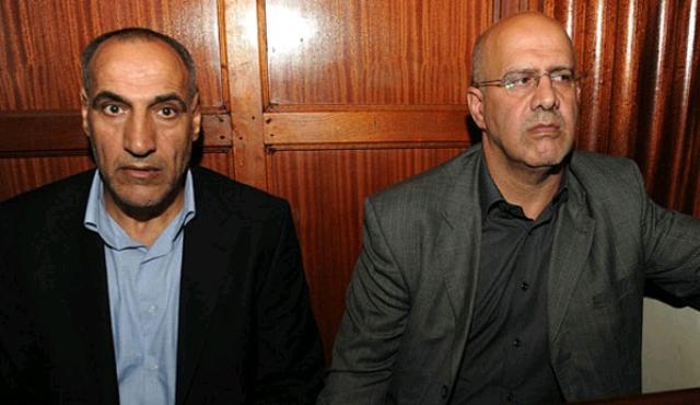Iranian Sayed Mansour Mousavi (L) and Ahmad Abolfathi Mohammed.jpg