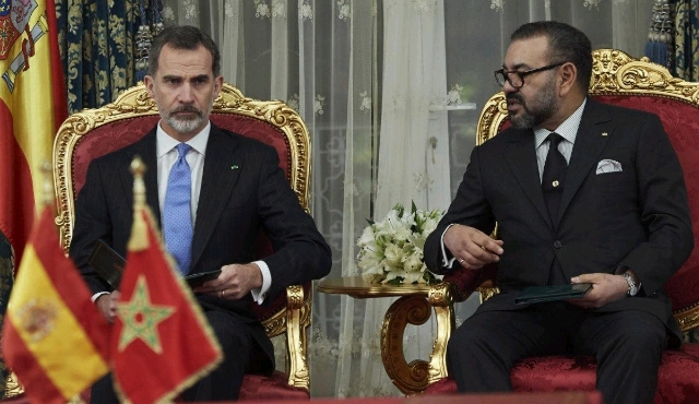 King Felipe VI of Spain (L) and King Mohammed VI of Morocco (R).jpg
