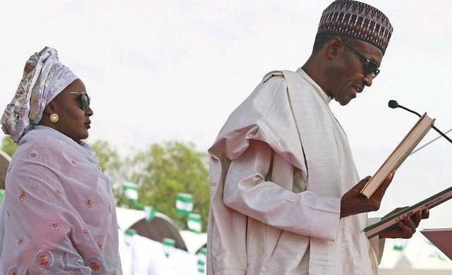 Aisha BuhariAnd President Buhari