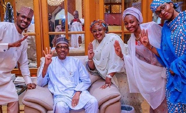 Buhari and Family