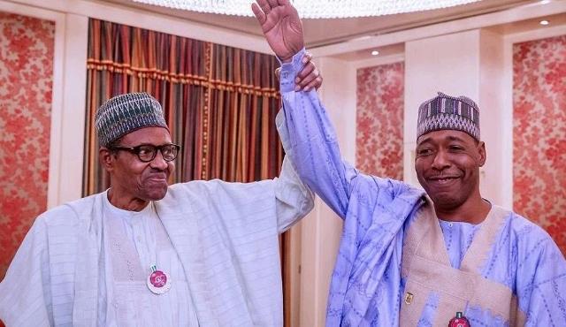 Buhari and Babagana Umara Zulum