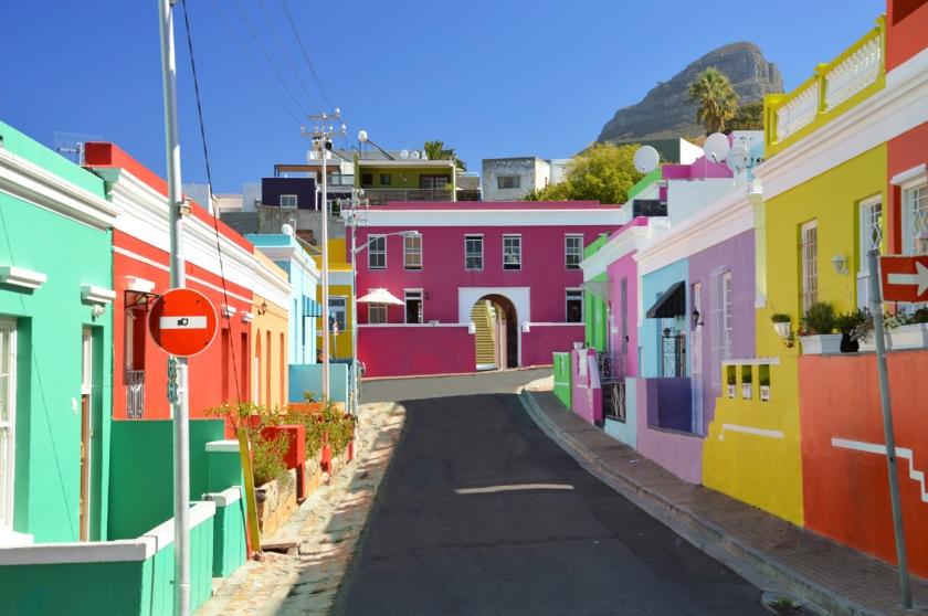 Bo-Kaap, Cape Town's colourful neighbourhood.