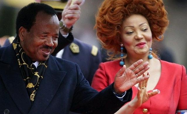 Paul Biya and Chantal Biya