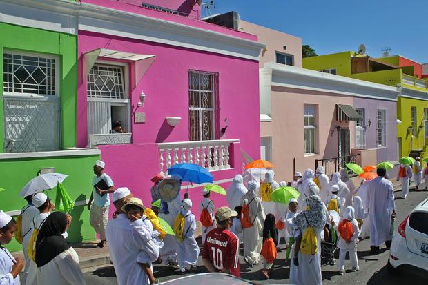 Residents in Bo-Kaap
