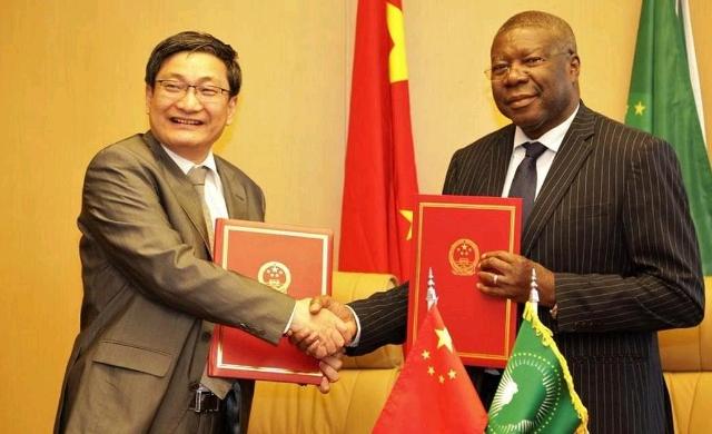 Liu Yuxi and Kwesi Quartey