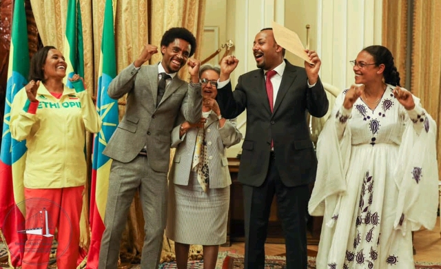 Lilesa honoured by the Ethiopian government