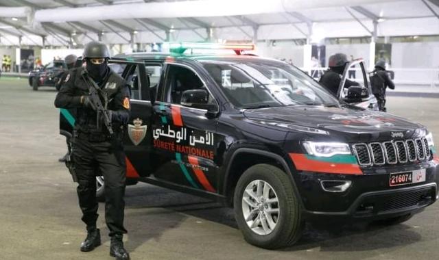 Morocco Police