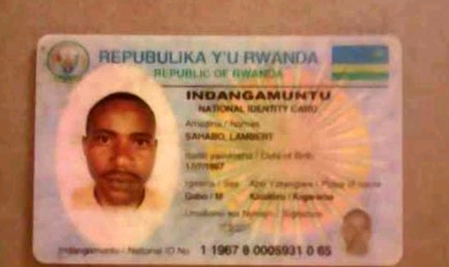 Rwandan national ID
