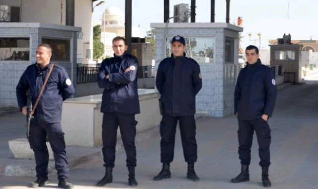 Tunisian guards