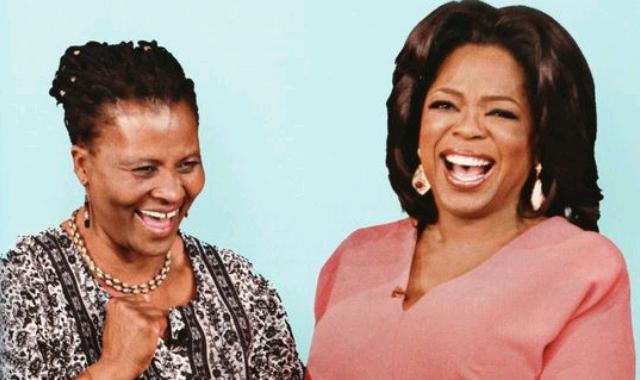 Trent and Oprah Winfrey
