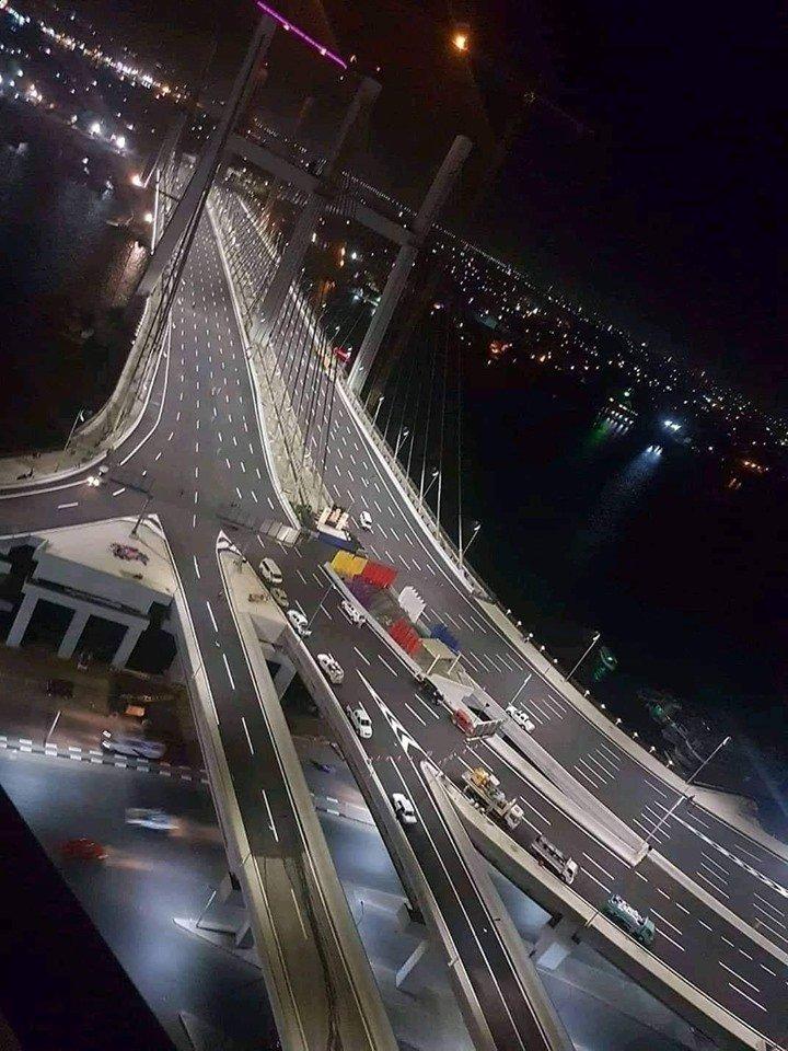 Egypt bridge