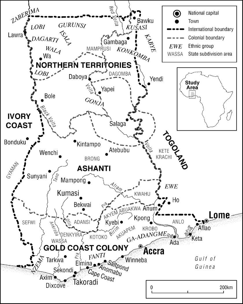 The Gold Coast, 1900