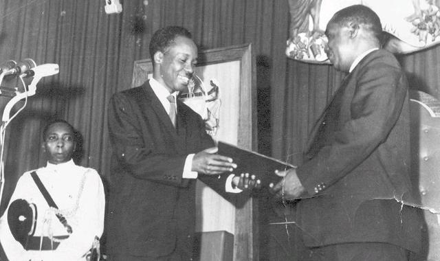 Julius Nyerere and  Abeid Karume