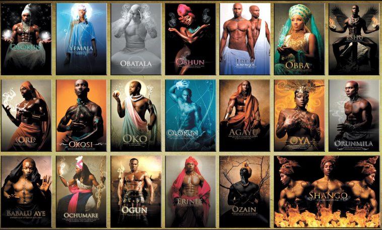 Orishas of the Yoruba Religion