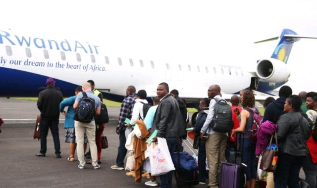 Rwanda Plane