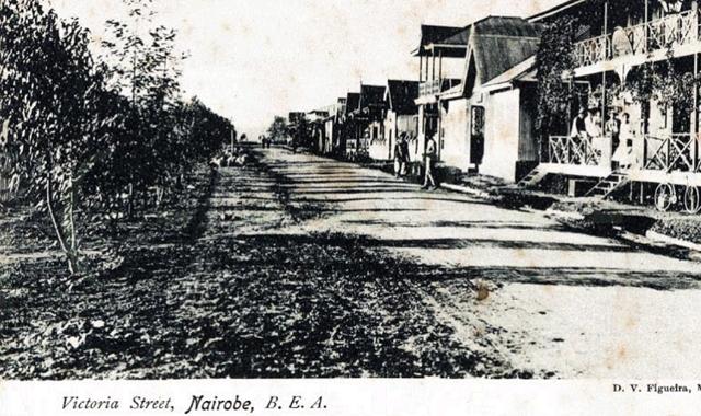 Victoria (Tom Mboya) Street, Nairobi in the 1900s