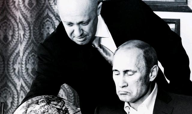 Yevgeny Prigozhin and Putin'