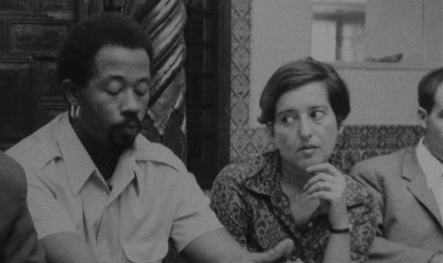 Eldridge Cleaver and Elaine Mokhtefi