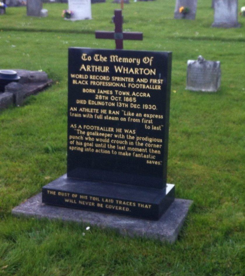 Arthur Wharton Grave