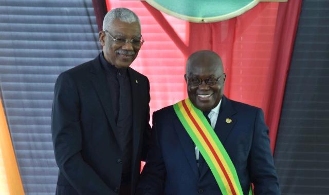 David Arthur Granger and Akufo-Addo