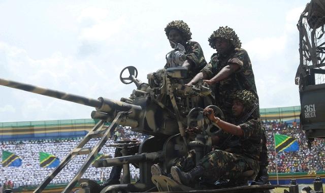 Tanzania Soldiers