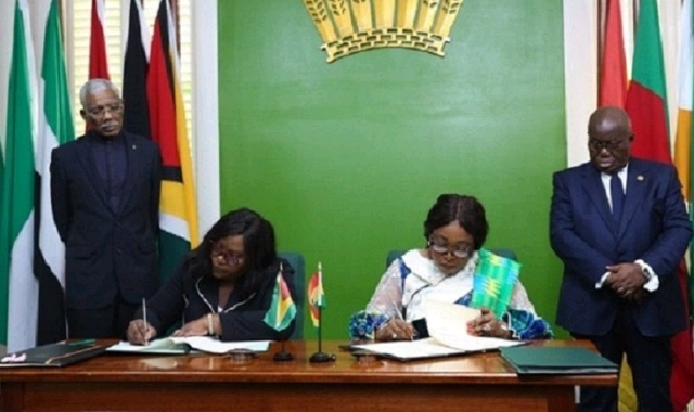 Guyana and Ghana