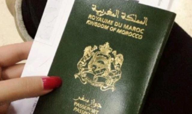 Moroccan Passport