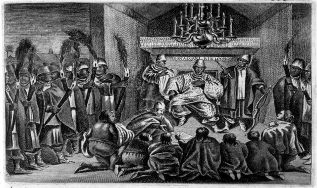 An illustration of the Oyo Empire.