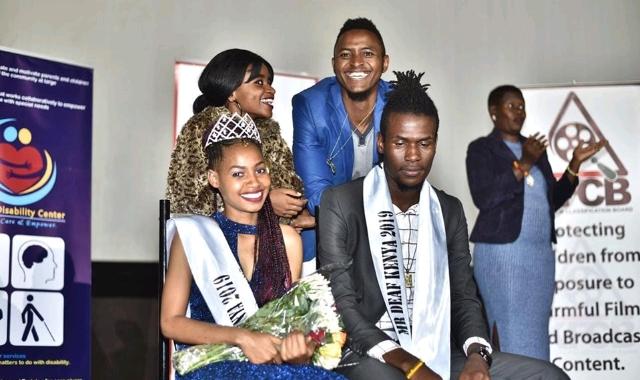 Cate Ndinda and Wilson Obange