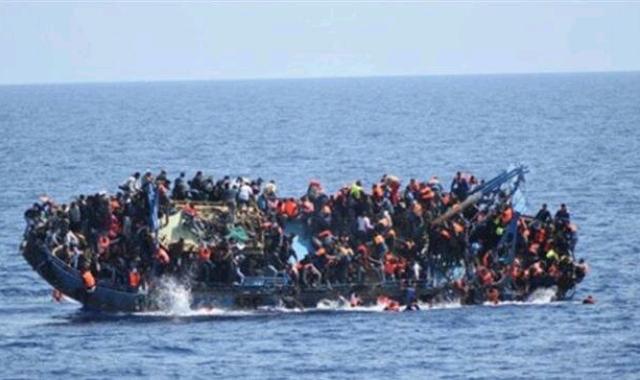 migrants boat capsizing