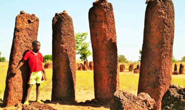 Wassu Stone Circles in The Gambia