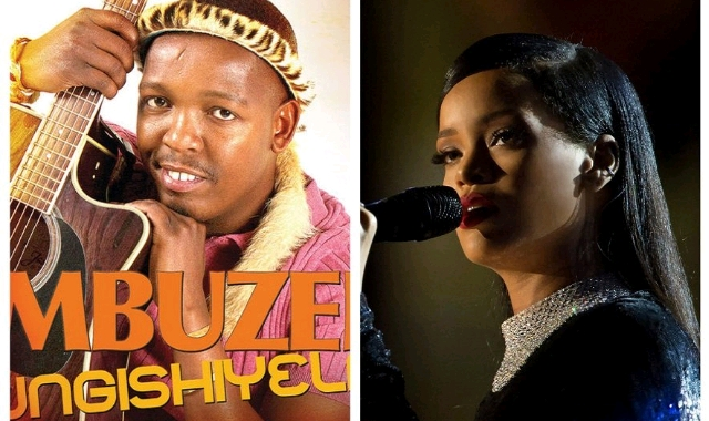 Mbuzeni Mkhize and Rihanna