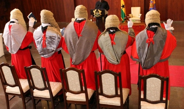 Supreme Court justices in Ghana