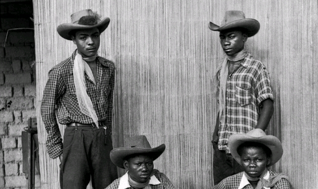 A group of Kinshasa Cowboys.